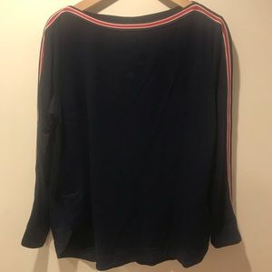 Red White & Blue Max Studio Weekend Long Sleeve L
